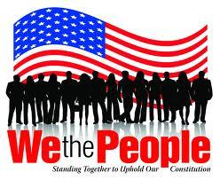 WE THE PEOPLE STANDiNG TOGETHER
