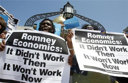 ROMNEY ECONOMiCS THAT ONLY WORKS 4 HiM AND HiS BULLSHiTTiN BUDDiES